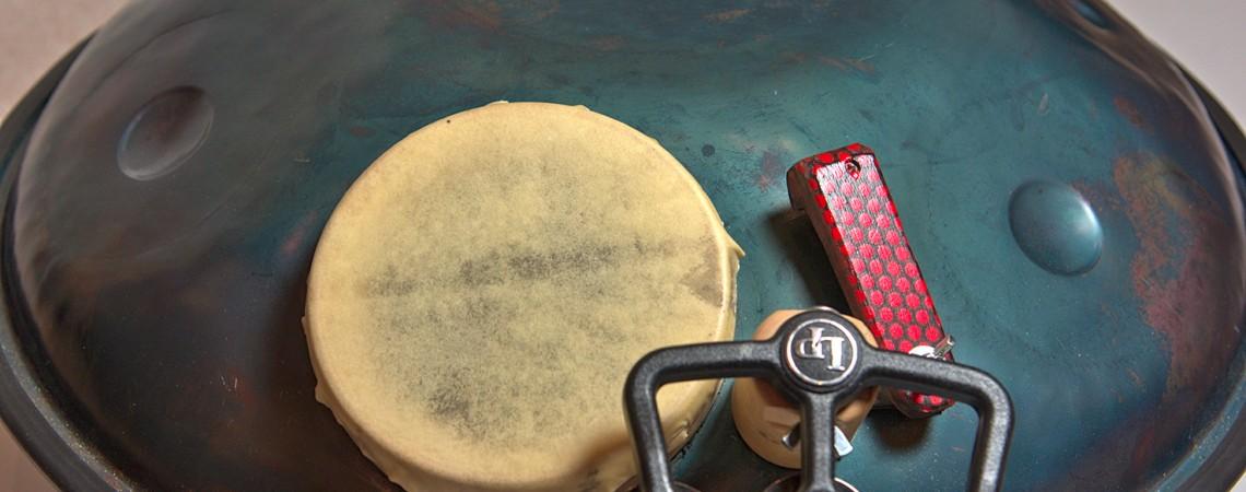 Un nouvel instrument le Udu-Handpan